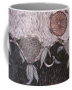 The Wolf Is Watching Coffee Mug