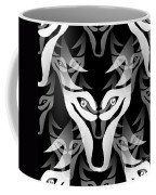 Wolf Mask Coffee Mug