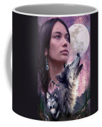 Wolf Montage Coffee Mug by Garry Walton