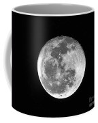 Wolf Moon Waning Coffee Mug by Al Powell Photography USA