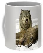 Wolf Protecting Kill Coffee Mug