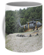 Wolfhounds Air Assault From A Uh-60 Coffee Mug