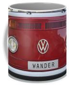 Wolkswagen Combi Red Coffee Mug