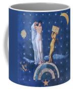 Woman And Cherub Coffee Mug