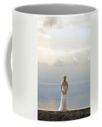 Woman At The Sea Coffee Mug