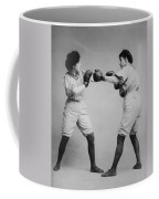Woman Boxing Coffee Mug