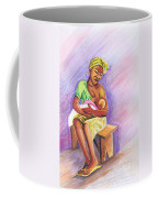 Woman Breastfeeding Bay In Rwanda Coffee Mug
