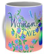 Woman Cave With Dragonfly Coffee Mug