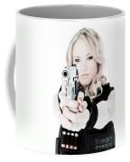 Woman Defense Coffee Mug