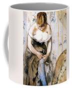 Woman Fastening Her Garter Coffee Mug