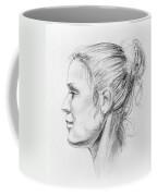 Woman Head Study Coffee Mug