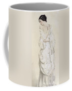 Woman In A Dressing Gown Coffee Mug by French School