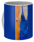 Woman In Blue Coffee Mug