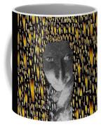 Woman In Flames Coffee Mug