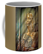 Woman In Glass Coffee Mug