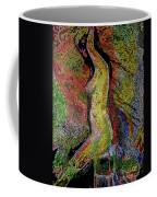 Woman In Glow Coffee Mug