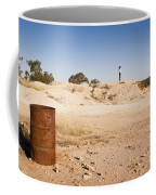 Woman In Landscape Coffee Mug