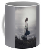 Woman In The Dunes Coffee Mug by Joana Kruse