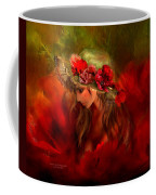 Woman In The Poppy Hat Coffee Mug