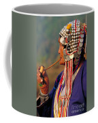 Akha Hill Tribe Woman  Thailand Coffee Mug