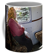 Woman On Train - Budapest Coffee Mug