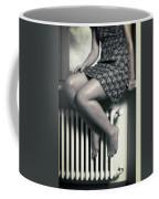 Woman On Window Sill Coffee Mug by Joana Kruse