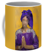 Woman Praying Coffee Mug