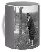 Woman Ready To Play Golf Coffee Mug