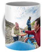 Woman Serving Appetizers, Alsek River Coffee Mug
