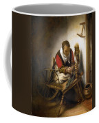 Woman Spinning Coffee Mug