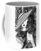 Woman With A Hat Coffee Mug