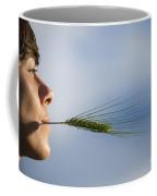 Woman With A Wheat Coffee Mug