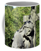 Woman With Cross Cave Hill Cemetery Louisville Kentucky Usa Coffee Mug