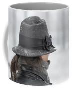 Woman With Hat Coffee Mug