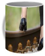 Woman With High Heels Shoes Coffee Mug