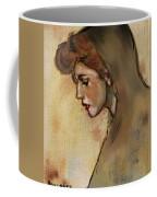 Woman With Hood Coffee Mug