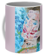 Woman With Necklace - Oil Portrait Coffee Mug