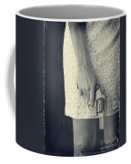 Woman With Revolver Coffee Mug