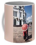 Woman With Umbrella - Moscow - Russia Coffee Mug