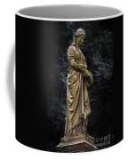 Woman With Wreath Coffee Mug