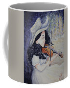 Woman's Autumnal Twilight Serenade Coffee Mug