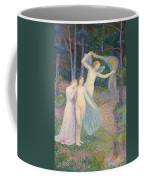 Women Amongst The Trees Coffee Mug by Hippolyte Petitjean