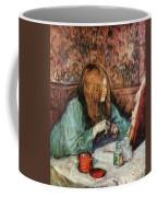 Women At The Toilet Coffee Mug
