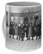Women In A Bank Coffee Mug