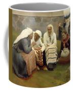 Women Outside The Church - Finland Coffee Mug