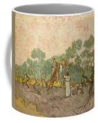 Women Picking Olives Coffee Mug