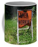 Women Working Coffee Mug