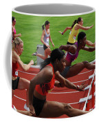 Womens Hurdles 3 Coffee Mug