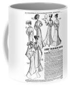 Women's Wear, 1902 Coffee Mug