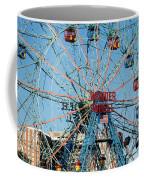 Wonder Wheel Of Coney Island Coffee Mug